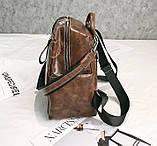 Стильный женский рюкзак сумка 2 в 1, фото 6