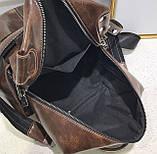 Стильный женский рюкзак сумка 2 в 1, фото 7