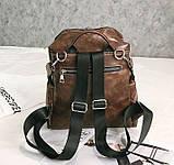 Стильный женский рюкзак сумка 2 в 1, фото 8