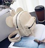 Рюкзачок детский Микки с ушками, фото 5