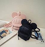 Рюкзачок детский Микки с ушками, фото 6