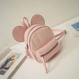 Рюкзачок детский Микки с ушками, фото 8