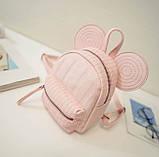 Рюкзачок детский Микки с ушками, фото 9