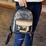 Женский рюкзак кожа ПУ, фото 3