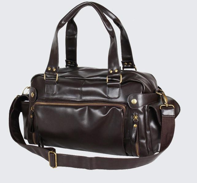 Шкіряна чоловіча сумка Екошкіра