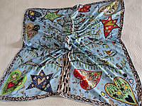 Платок Hermes шёлк, фото 1