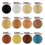 Galaces 1.00мм белый (S000) плоский шнур вощёный по коже, фото 3