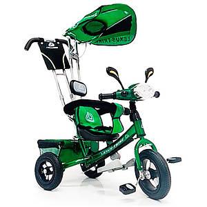 Велосипед детский трехколесный Lexus Trike Фара Air колеса 12/10