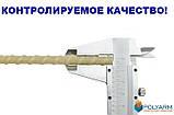 Композитная строительная арматура Polyarm 18 мм. неметаллическая арматура для фундамента Украина, фото 2