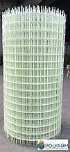 Композитная строительная сетка Polyarm 50х50 мм, диаметр сетки 3 мм (сертификат)