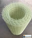 Композитная строительная сетка Polyarm 100х100 мм, диаметр сетки 3 мм (сертификат), фото 2