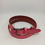 Жіночий шкіряний ремінь/ Кожаный женский ремень LW018, фото 2