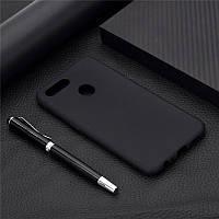 Чехол Soft Touch для Oppo A12 силикон бампер черный