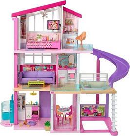 Дом мечты Барби 3-х этажный с лифтом, бассейном и мебель-трансформер - Barbie DreamHouse