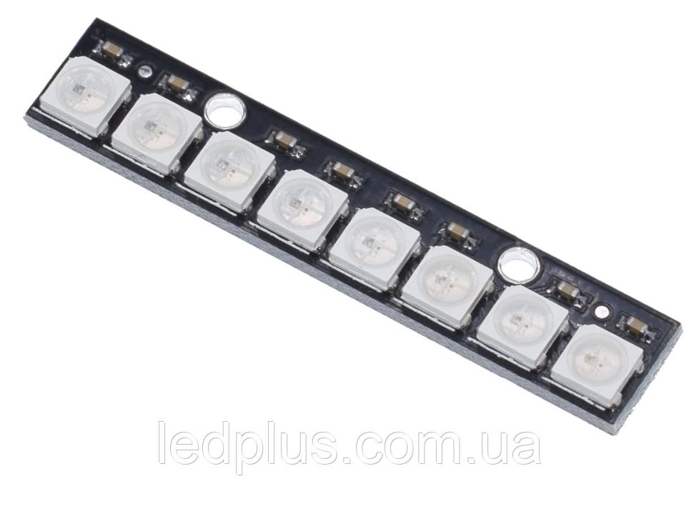 Модуль Neopixel 8 светодиодов WS2812