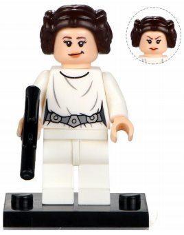 Фигурка принцессы Леи Звёздные войны Star Wars Аналог лего