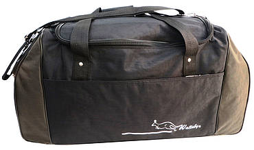 Дорожная сумка Wallaby, Украина 59 л черная с хаки