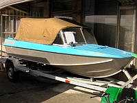 Ходовые тенты на лодки Днепр