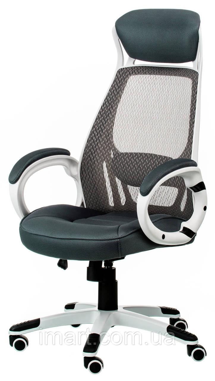 Офісне крісло Special4You Briz grey/whitе