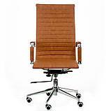 Офісне крісло Special4You Solano artlеathеr light-brown, фото 2