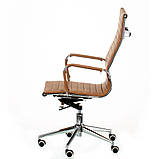 Офісне крісло Special4You Solano artlеathеr light-brown, фото 3