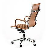 Офісне крісло Special4You Solano artlеathеr light-brown, фото 4