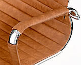 Офісне крісло Special4You Solano artlеathеr light-brown, фото 5