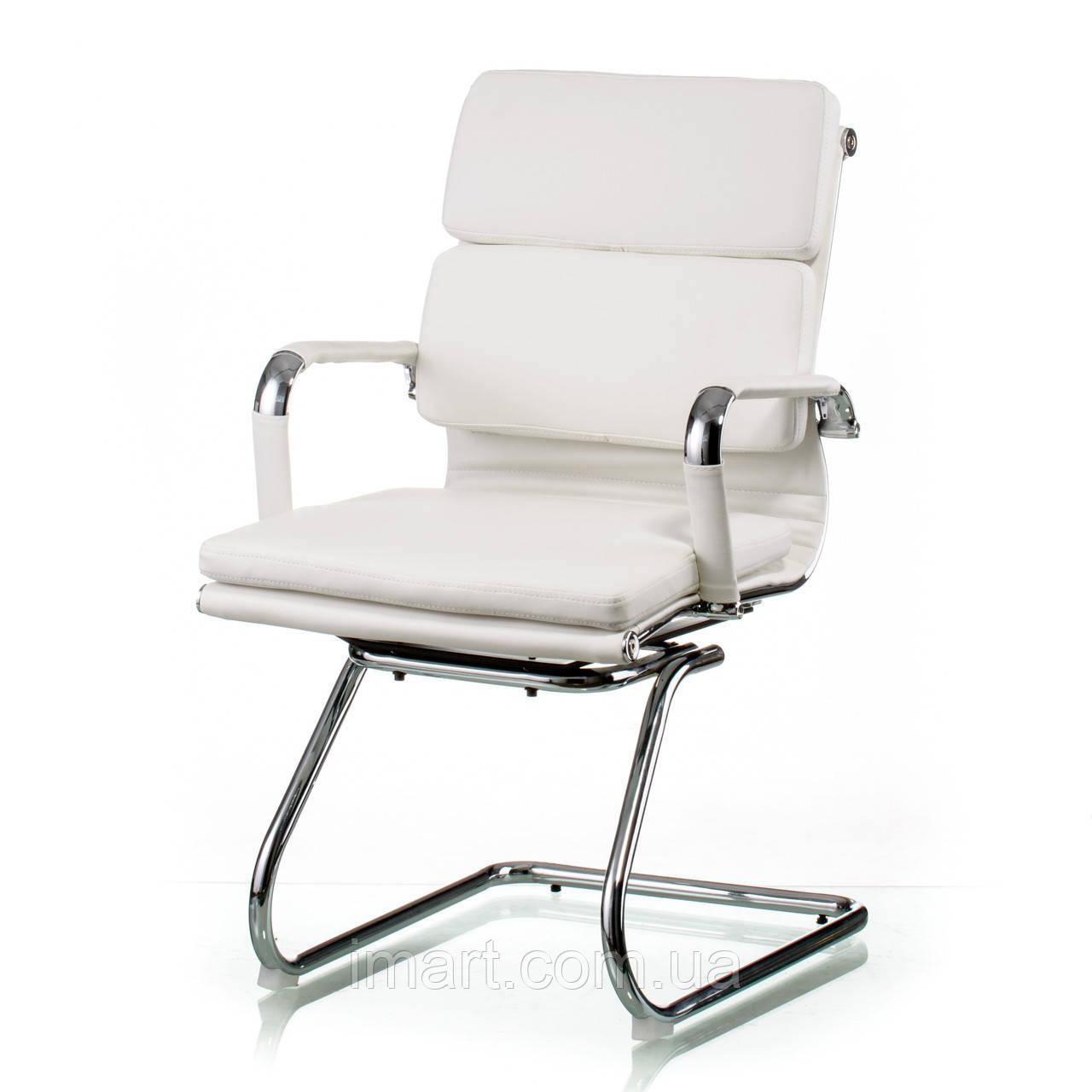 Офісне крісло Special4You Solano 3 office artleather white