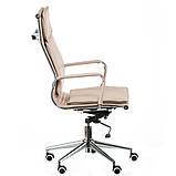 Офисное кресло Special4You Solano 4 artleather beige, фото 3