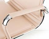 Офисное кресло Special4You Solano 4 artleather beige, фото 5