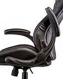 Офісне крісло Special4You Lеadеr black, фото 6