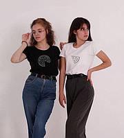 """Парные футболки для двоих """" Пицца """" футболки для пар / друзей"""