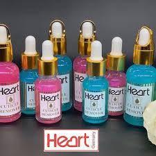 Гель кислотный для удаления кутикул HEARТ Сuticle Remover, 30мл. Розовый