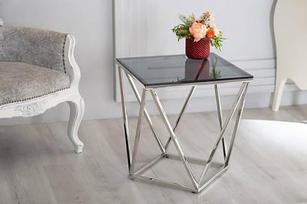 Журнальный стол CP-2 (тонированное + серебро), фото 2