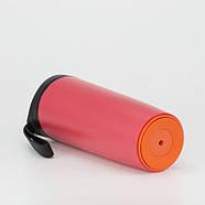 Термокружка-неваляшка Bergamo Line Art Smart (540 мл) пластик, фото 2