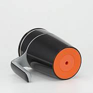 Непроливающаяся термокружка Bergamo Line Art Boss (470 мл) черная, фото 5