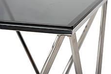Журнальный стол CP-2 (тонированное + серебро), фото 3