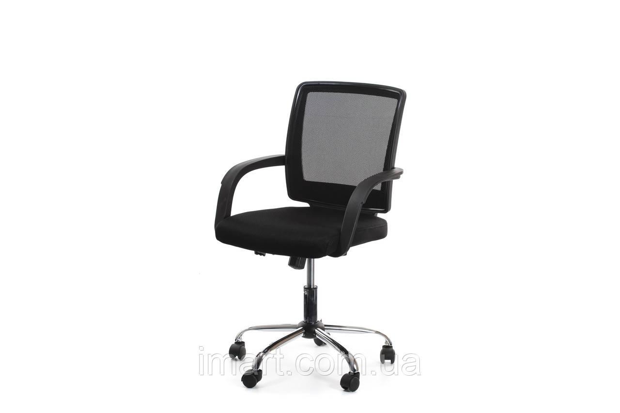 Дитяче комп'ютерне крісло Offce4You VISANO, Black/Chrome