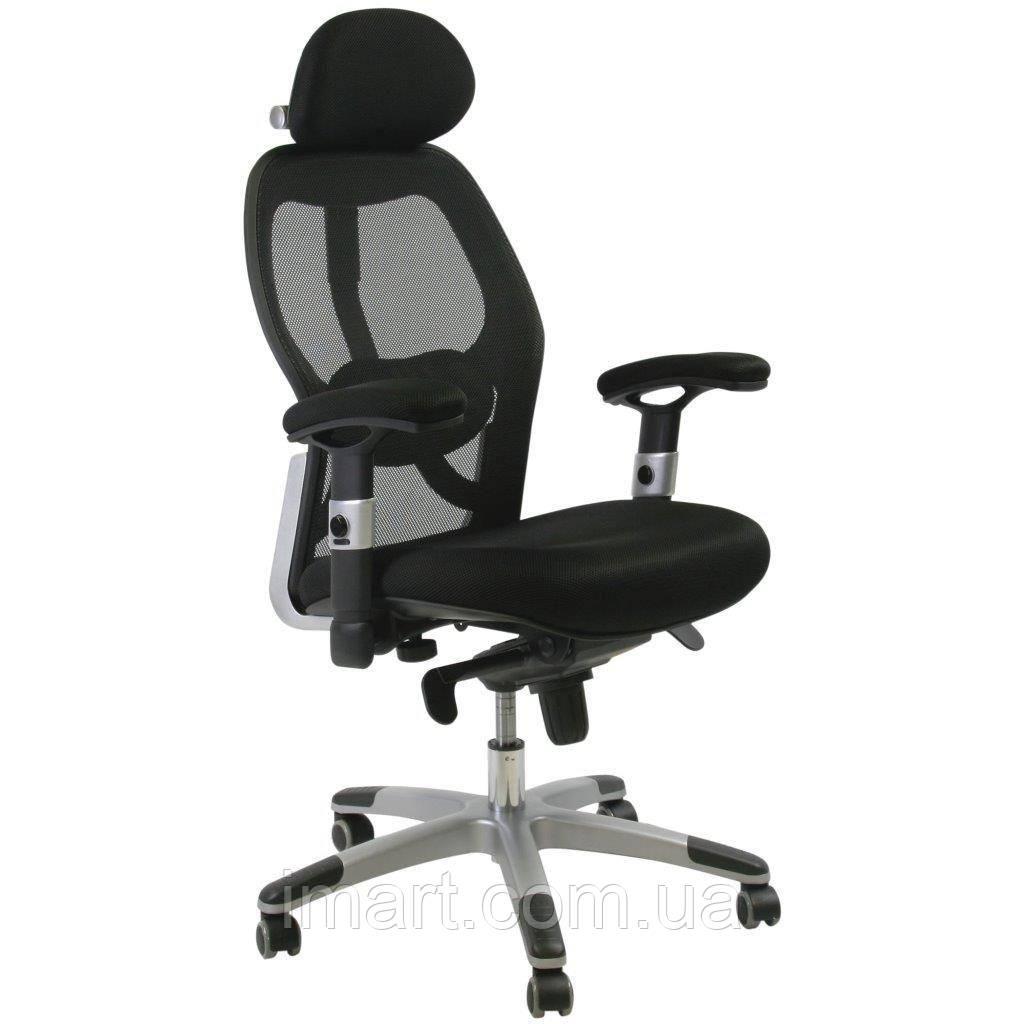 Офісне крісло Offce4You, GAIOLA, black chrome