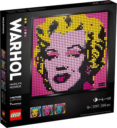Lego Art Мэрилин Монро Энди Уорхола 31197