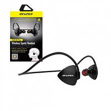 Беспроводные Bluetooth наушники Awei A847BL для спорта