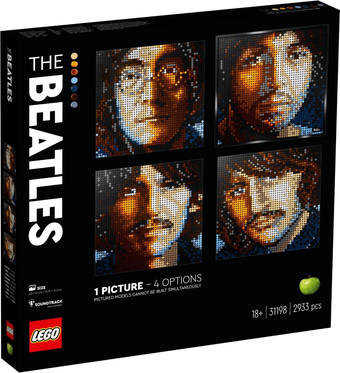 Lego Art Битлз 31198