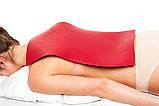 Аппликатор Ляпко Коврик Большой 7,0 Ag размер 275 х 480 мм массажер игольчатый на всю спину Красный, фото 6