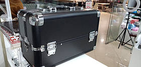 Чемодан-кейс алюминиевый 109 матовый черный