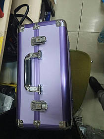 Чемодан-кейс алюминиевый 109 матовый фиолетовый