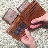 Гаманець чоловічий портмоне 100$ Долар, фото 3