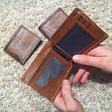 Гаманець чоловічий портмоне 100$ Долар, фото 4