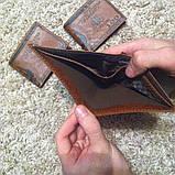 Гаманець чоловічий портмоне 100$ Долар, фото 5