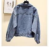 Куртка джинсова блакитна, фото 2