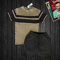 Мужской комплект: футболка и шорты